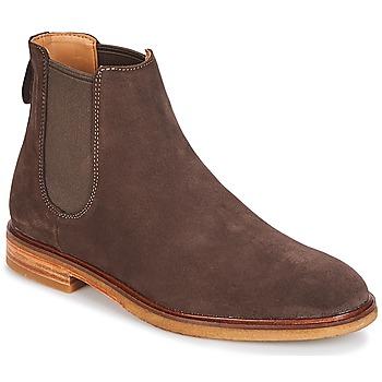 鞋子 男士 短筒靴 Clarks 其乐 Clarkdale Gobi 深色 / 棕色 / Suede