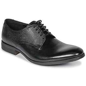 鞋子 男士 德比 Clarks 其乐 GILMORE 黑色 /  leather