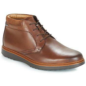 鞋子 男士 短筒靴 Clarks 其樂 UN 棕色