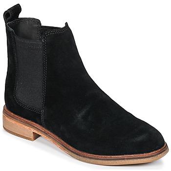 鞋子 女士 短筒靴 Clarks 其乐 CLARKDALE 黑色 / Sde