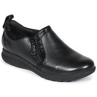 鞋子 女士 德比 Clarks 其乐 UN 黑色 / Combi