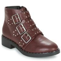 鞋子 女士 短筒靴 Coolway CHIP 波爾多紅