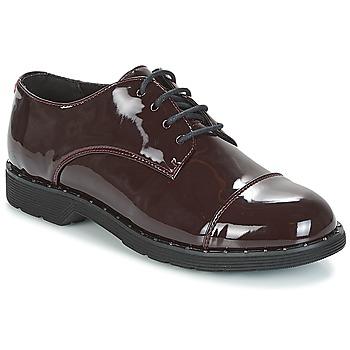 鞋子 女士 德比 Coolway PARIS 波尔多红 / 漆皮