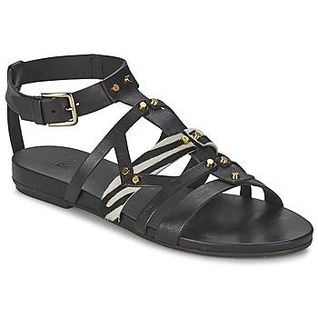 鞋子 女士 凉鞋 Vic 维克 GINKO ACHANTUS 黑色