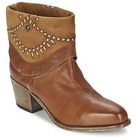 鞋子 女士 短靴 Vic 维克 AGAVE 棕色