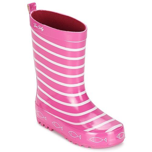 鞋子 女孩 雨靴 Be Only TIMOUSS 玫瑰色