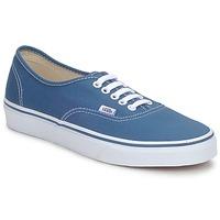 鞋子 球鞋基本款 Vans 范斯 AUTHENTIC 蓝色