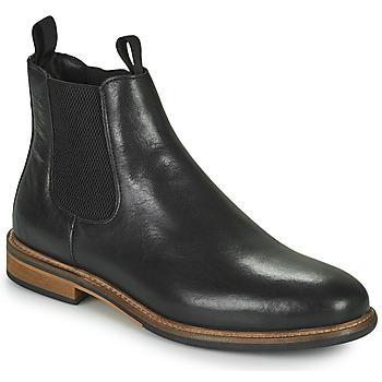 鞋子 男士 短筒靴 Schmoove PILOT CHELSEA 黑色