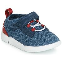 鞋子 男孩 球鞋基本款 Clarks 其乐 Tri Hero 蓝色
