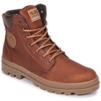 鞋子 男士 短筒靴 Palladium 帕拉丁 PALLABOSSE SC WP 棕色