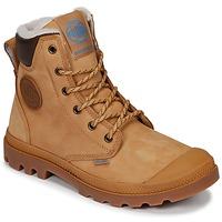 鞋子 短筒靴 Palladium 帕拉丁 PAMPA SPORT CUFF WPS 黄色 / 棕色