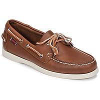 鞋子 男士 船鞋 Sebago 仕品高 DOCKSIDES FGL 棕色