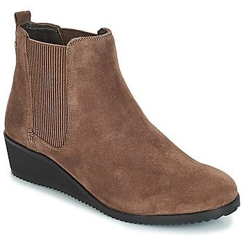 鞋子 女士 短筒靴 Hush puppies 暇步士 COLETTE 棕色