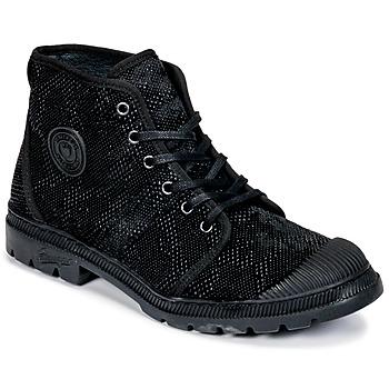 鞋子 女士 短筒靴 Pataugas Authentique TP 黑色