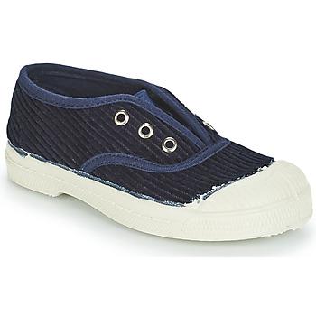 鞋子 儿童 球鞋基本款 Bensimon TENNIS ELLY CORDUROY 海蓝色