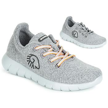 鞋子 女士 球鞋基本款 Giesswein MERINO RUNNERS 灰色