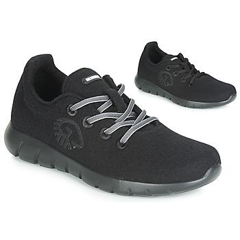 鞋子 女士 球鞋基本款 Giesswein MERINO RUNNERS 黑色