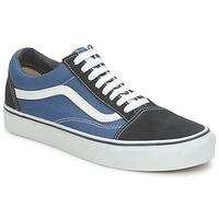 鞋子 球鞋基本款 Vans 范斯 OLD SKOOL 蓝色