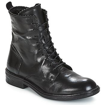 鞋子 女士 短筒靴 Mjus PAL LACE 黑色