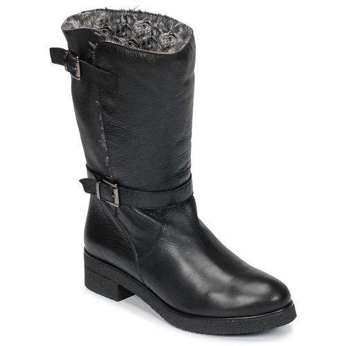 鞋子 女士 短筒靴 Unisa DALI 黑色