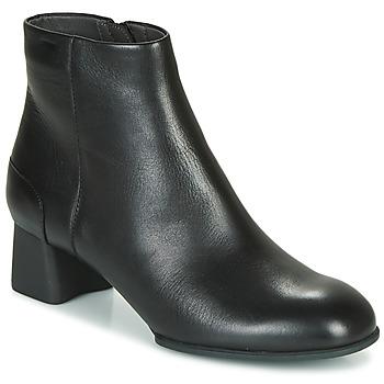 鞋子 女士 短靴 Camper 看步 KATIE 黑色