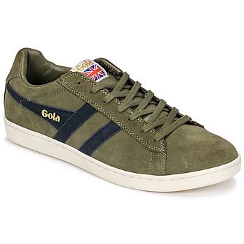 鞋子 男士 球鞋基本款 Gola Equipe Suede 卡其色 / 海蓝色