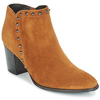 鞋子 女士 短靴 Myma POUTZ 驼色