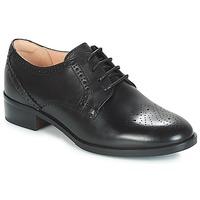 鞋子 女士 德比 Clarks 其乐 NETLEY ROSE 黑色