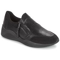 鞋子 女士 球鞋基本款 Geox 健乐士 D OMAYA 黑色