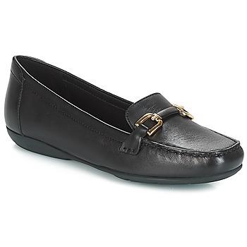 鞋子 女士 皮便鞋 Geox 健乐士 D ANNYTAH MOC 黑色