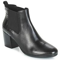 鞋子 女士 短靴 Geox 健乐士 D NEW LUCINDA 黑色
