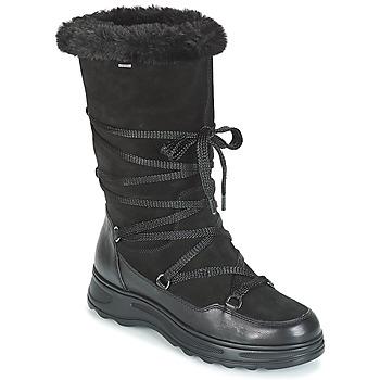 鞋子 女士 雪地靴 Geox 健乐士 D HOSMOS B ABX 黑色
