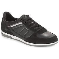 鞋子 男士 球鞋基本款 Geox 健乐士 U RENAN 黑色
