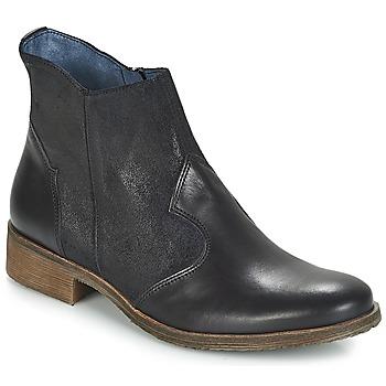 鞋子 女士 短筒靴 Kickers LIXY 黑色