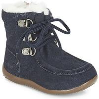 鞋子 儿童 都市靴 Kickers BAMARA 海蓝色