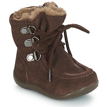 鞋子 儿童 都市靴 Kickers BAMARA 棕色
