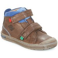 鞋子 男孩 高帮鞋 Kickers IGUTO 棕色