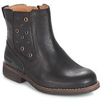 鞋子 女孩 都市靴 Kickers SMAD 黑色