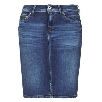 衣服 女士 半身裙 Pepe jeans TAYLOR 蓝色 / Edium