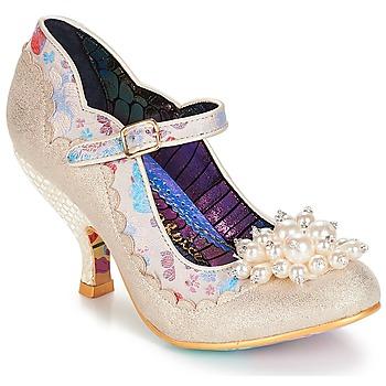 鞋子 女士 高跟鞋 Irregular Choice Shoesbury 奶油色