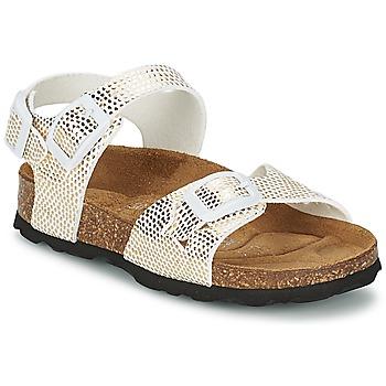 鞋子 女孩 凉鞋 Betula JEAN Python / 金色