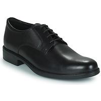 鞋子 男士 德比 Geox 健乐士 CARNABY D 黑色