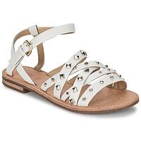 鞋子 女士 凉鞋 Geox 健乐士 JOLANDA E 白色