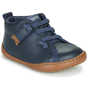 鞋子 男孩 球鞋基本款 Camper 看步 PEU CAMI 蓝色