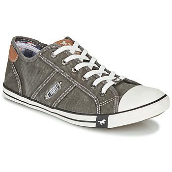 鞋子 男士 球鞋基本款 Mustang TIRON 灰色