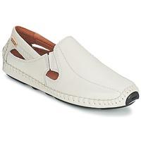 鞋子 男士 皮便鞋 Pikolinos 派高雁 JEREZ 09Z 白色