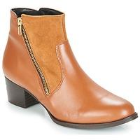 鞋子 女士 短靴 So Size JOCASSU 駝色