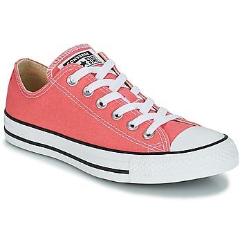 鞋子 球鞋基本款 Converse 匡威 CHUCK TAYLOR ALL STAR OX 橙色 / 珊瑚色
