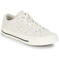 鞋子 儿童 球鞋基本款 Converse 匡威 ONE STAR OX 白色