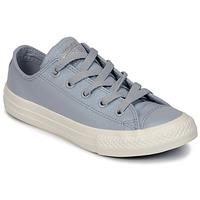 鞋子 女孩 球鞋基本款 Converse 匡威 CHUCK TAYLOR ALL STAR OX 灰色